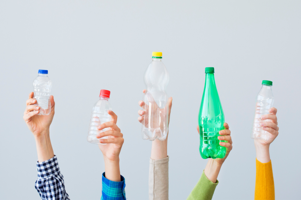 ever thought of recycling water bottles?